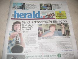 REC jazz band on The Herald