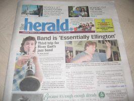 REC jazz band on TheHerald