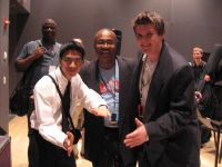 Reggie and John meet Ron Carter