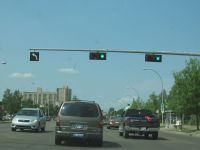 traffic lights in Edmonton