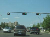 traffic lights inEdmonton